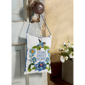 "Waverly-Charmed - Stamped Embroidery Door Hanger Kit 5""X7"""