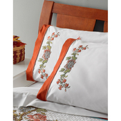 "Waverly-Charleston Chip - Stamped Embroidery Pillowcase Pair 20""X30"""