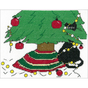 "5""X6"" 14 Count - Holiday Surprise Counted Cross Stitch Kit"