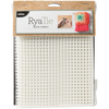 4 Count - RyaTie Mesh Fabric 24 inches X30 inches Create home decor projects like a pro with this versatile mesh fabric. Perfect for creating pillows, wall hangings, or even rugs, this stiff, but flexible material can be used to create a variety of DIY projects. This package contains 100% polyester mesh measuring 24x30 inches. Imported.