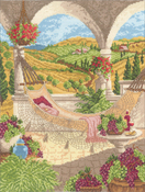 """11""""X14"""" 14 Count - Harvest Celebration Counted Cross Stitch Kit"""