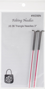 Size 36 Triangle - Felting Needles 4/Pkg