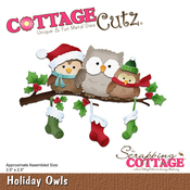 Holiday Owls - CottageCutz Dies