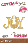 "Joy Nativity 3.5""X2.2"" - CottageCutz Elites Dies"