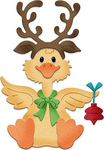 "Reindeer Duck 1.8"" To 2.7"" - CottageCutz Dies"