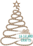 Spiral Christmas Tree - La-La Land Die