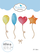 Balloons - Elizabeth Craft Metal Die