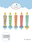 Birthday Candles - Elizabeth Craft Metal Die