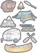 Camping Out - Elizabeth Craft Metal Die