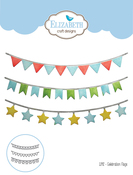 Celebration Flags - Elizabeth Craft Metal Die