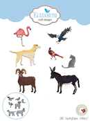 CountryScapes-Critters 7 - Elizabeth Craft Metal Die