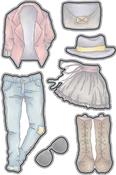 Fashions 1 - Elizabeth Craft Metal Die