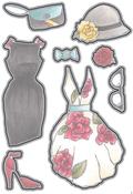 Fashions 2 - Elizabeth Craft Metal Die