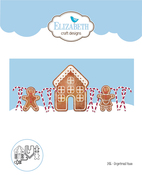 Gingerbread Home - Elizabeth Craft Metal Die