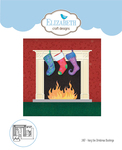 Hang The Christmas Stockings - Elizabeth Craft Metal Die