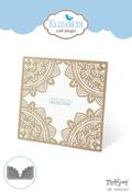 Oriental Card - Elizabeth Craft ModaScrap Metal Die