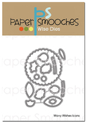 Wavy Wishes Icons - Paper Smooches Dies