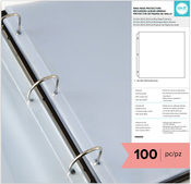 """We R 3-Ring Page Protectors 12""""X12"""" 100/Pkg"""