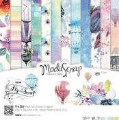 "Fly & Scrap - Elizabeth Craft ModaScrap Paper Pack 12""X12"" 12/Pkg"