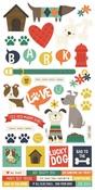 Life Is Ruff Sticker Sheet - Simple Stories