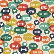 Ruff Ruff Paper - Life Is Ruff - Simple Stories