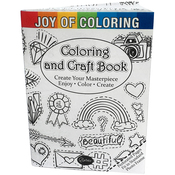 Joy Of Coloring Craft & Coloring Book