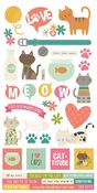 Life Is Purrfect Sticker Sheet - Simple Stories