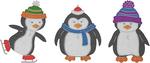 "Penguin Pals 1.67"" To 2.54"" - Cheery Lynn Designs Die"