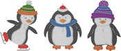 "Penguin Pals 1.67"" To 2.54"" - Cheery Lynn Designs Die"