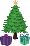 """Classic Christmas Tree .41"""" To 2.50"""" - Cheery Lynn Designs Die"""