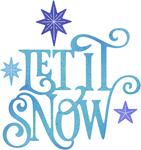 "Let It Snow .52"" To 3.23"" - Cheery Lynn Designs Die"