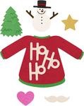 "Fun W/Sweaters .25"" To 2.99"" - Cheery Lynn Designs Die"