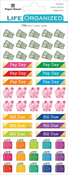 Budget - Paper House Functional Planner Stickers