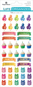 Birthday - Paper House Functional Planner Stickers