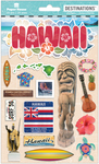 "Travel Hawaii - Paper House 2-D Stickers 7.5""x4.5"""