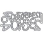 Attaction Font Numerals - Tonic Studios Simple Type Dies