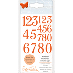 Windsor Font Numberals - Tonic Studios Simple Type Dies