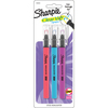 Coral, Blue & Purple - Sharpie Clear View Stick Highlighters 3/Pkg