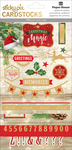 Christmas Magic - Paper House Christmas Joy Stickypix Cardstock Stickers 5/Pkg