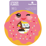 Kawaii - Paper House Sticker Flakes Cut Out Stickers 32/Pkg