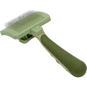 Small - Safari Dog Self-Cleaning Slicker Brush