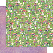 Tiny Toadstools Paper - Fairie Dust - Graphic 45