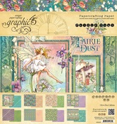 Fairie Dust 8 x 8 Paper Pad - Graphic 45