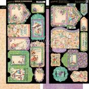 Fairie Dust Tags & Pockets - Graphic 45