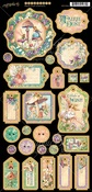 Fairie Dust Chipboard - Graphic 45