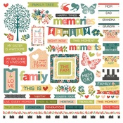 Memory Lane Sticker Sheet - Photoplay - PRE ORDER