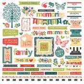 Memory Lane Sticker Sheet - Photoplay