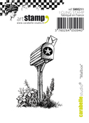 """Mailbox - Carabelle Studio Cling Stamp Small 2.17""""X1.38"""""""