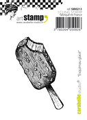 """Ice Cream Treat - Carabelle Studio Cling Stamp Small 2.56""""X1.18"""""""
