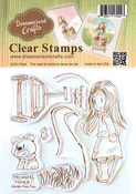 """The Road To Home Is Never Too Far - DreamerlandCrafts Clear Stamp Set 4""""X4"""""""